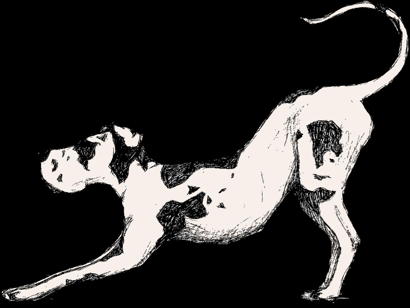 Mozi dog logo
